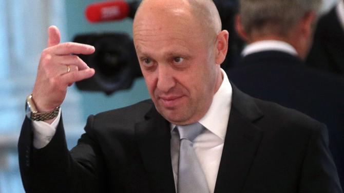 """Evgheni Prigojin, cunoscut mai mult în presă ca """"bucătarul lui Putin''."""