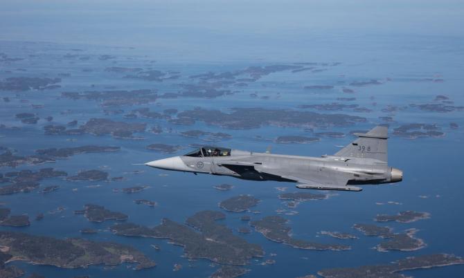 Gripen E/F, Sursă foto: Saab.com