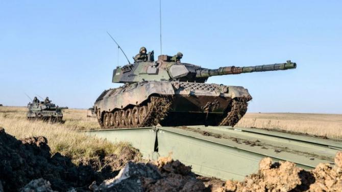 Leopard 1A5BR achiziționat din Germania în 2006 sunt în prezent cele mai avansate MBT-uri din inventarul armatei braziliene