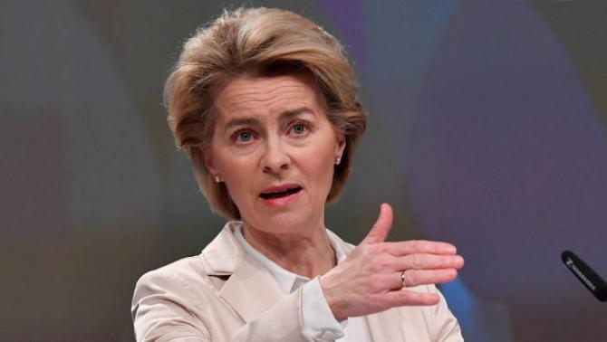 Şefa Comisiei Europene, Ursula von der Leyen