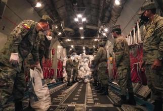 Armata din Ecuador, în bătălia cu COVID-19, sursă foto: Ministerul Apărării din Ecuador - Facebook Ministerio Defensa Ecuador