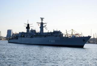 """Fregata """"Regina Maria"""". Sursa Foto: Navy.ro"""