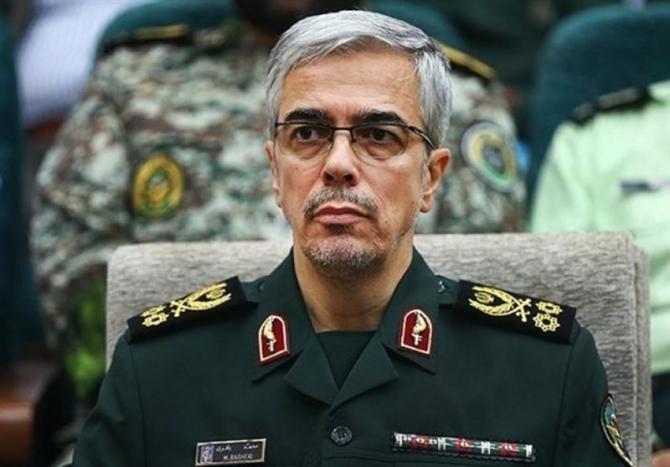 Generalul maior Mohammad Hossein Baqeri