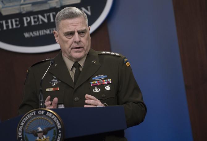 generalul Mark Milley, şeful Statului Major al armatei americane