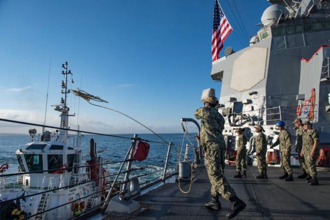 USS Porter, sursă foto: US Navy