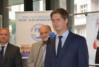 Andrei Konceakov, directorul Centrului rus pentru știință și cultură din Praga