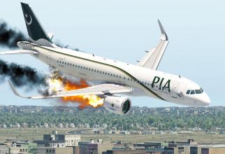 Sursă foto: HHH Aviation, captură YouTube reconstiturea prăbușirii Airbus A320