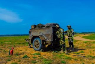"""Detaşamentului de Apărare Antiaeriană """"Scorpionii Albaştri"""", sursă foto: Forțele Terestre Române"""