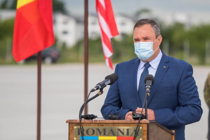 Ministrul Apărării, Nicolae Ciucă. Foto: Bogdan PANTILIMON, Statul Major al Forțelor Aeriene