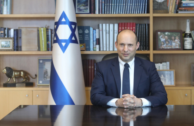 Ministrul Apărării din Israel Naftali Bennett