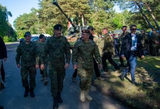 Generalul Daniel Petrescu, șeful SMAp, prezent în Polonia la ANACONDA-20. Sursă foto: Daniel Petrescu Facebook