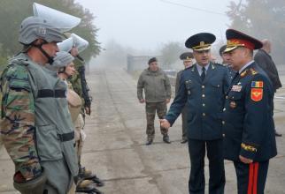Geniști ai Armatei Naționale a Republicii Moldova. Sursă foto: Ministerul Apărării de la Chișinău