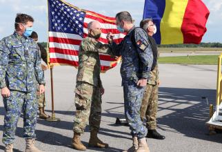 Misiunea în SUA, executată de personalul medical militar și specialiști CBRN din Armata României. Sursă foto: Facebook MApN