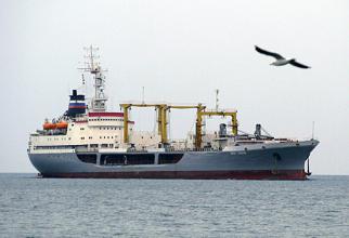 Petrolier rusesc, sursă foto: Ministerul Apărării al Federației Ruse