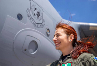 Simona Maierean, sursă foto: Strategic Airlift Capability