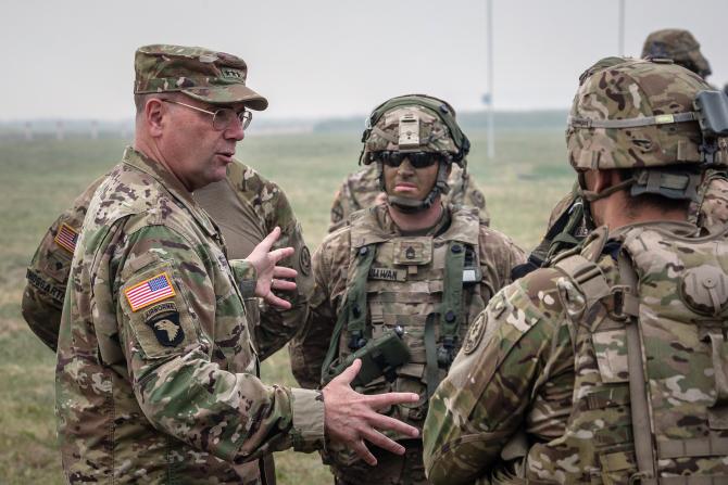 Generalul american în retragere Ben Hodges - fostul comandant al trupelor terestre americane din Europa în 2014-2017