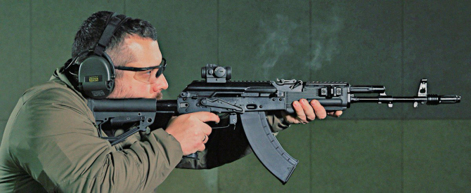 AK-203, sursă foto: Kalashnikov Media