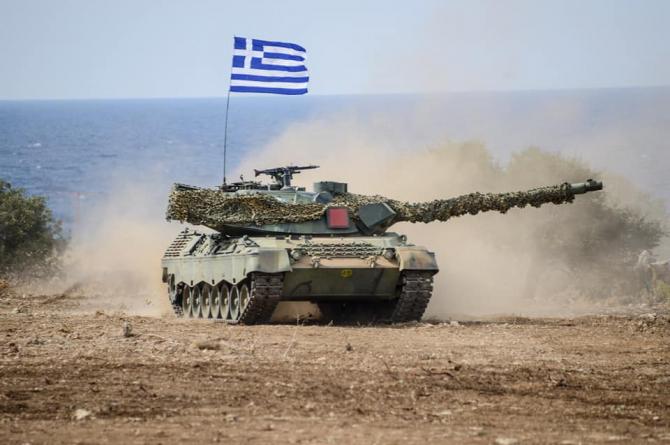 Armata greacă, sursă foto: Greek Ministry of Defence Facebook