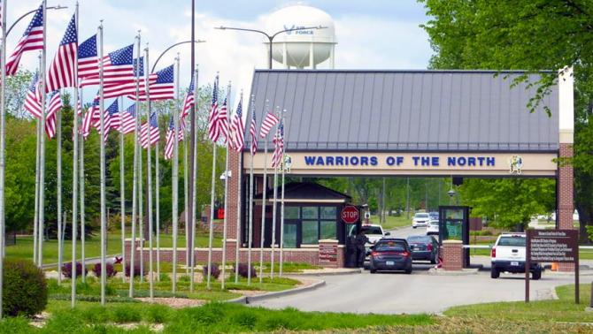 Baza Aeriană Grand Forks, Dakota de Nord, SUA. Sursă foto: visitgrandforks.com