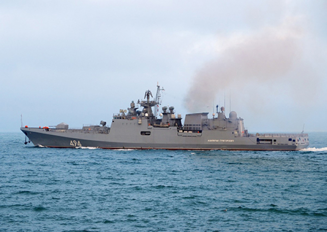 Fregata Admiral Grigorovich. Credit foto: Ministerul Apărării din Rusia