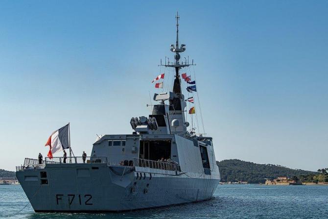 Fregata franceză Le Courbet