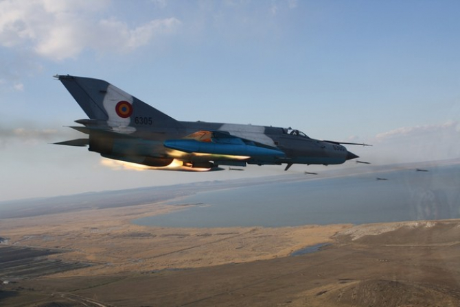 MiG-21 LanceR, sursă foto: MApN