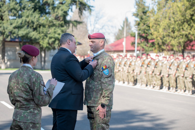 Ministrul Apărării Nicolae Ciucă, sursă foto: Nicolae Ciucă Facebook