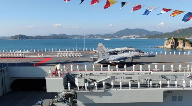 Portavionul chinez Shandong, sursă foto: Ministerul Apărării din China
