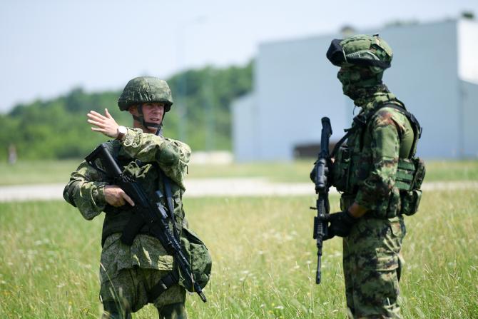 Soldați ruși, sursă foto: Ministerul Apărării de la Moscova