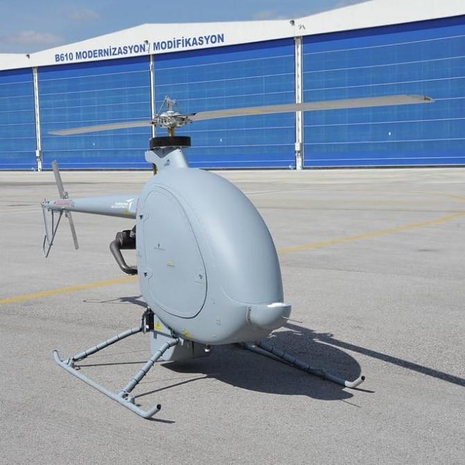 Drona cargo a Turciei care va fi produsă de SSB și compania autohtonă TAI. Sursă foto: Turkey's Defense Industries Presidency (SSB)