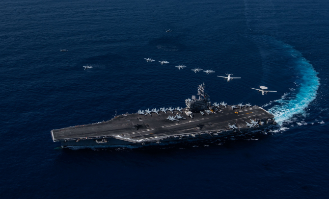 USS Ronald Reagan (CVN 76) Facebook