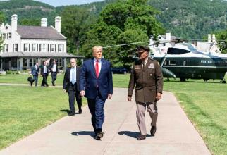 Președintele american Donald Trump, sursă foto: The White House Facebook