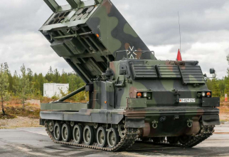 Sistemul de rachetecu capacitate delansare multiplă  MARS M270 MLRS al armatei germane