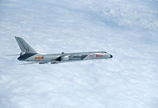 Bombardier H-6K al Chinei, sursă foto: Ministerul Apărării de la Beijing