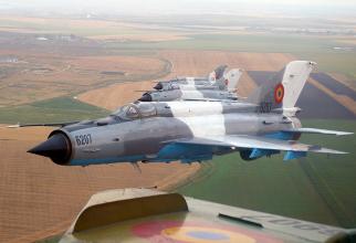 MiG-21 LanceR, sursă foto: ROAF