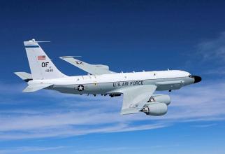 RC-135W Rivet Joint, sursă foto: USAF