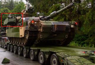 M1A2 Abrams SEP V2 echipat cu un sistem de protecție activă Trophy. Sursa foto: armyrecognition