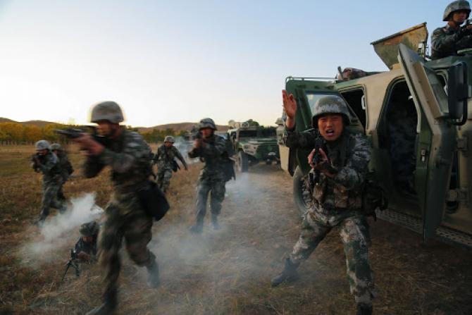 Armata chineză, sursă foto: Ministerul Apărării din China