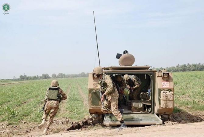 Trupe ale Pakistanului, sursă foto: Pakistan Army Instagram, isprofficial1