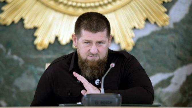 Ramzan Kadyrov este conducător al regiunii Cecenia şi un apropiat al lui Vladimir Putin