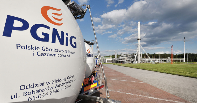 PGNiG - cea mai mare companie poloneză de gaze