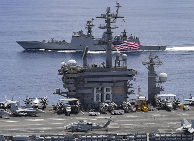 USS Nimitz, sursă foto: US Navy