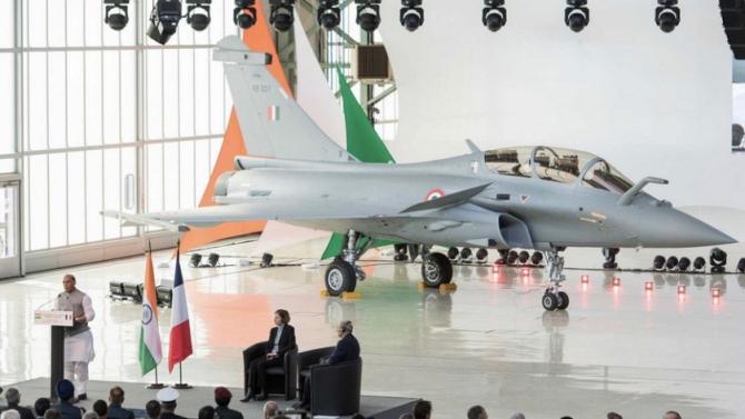 Rafale, India. Foto: Dassault Aviation