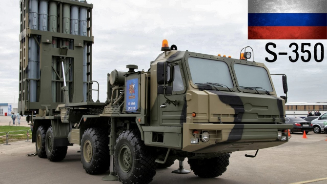 S-350 Vityaz, sursă foto: YouTube Armies Power
