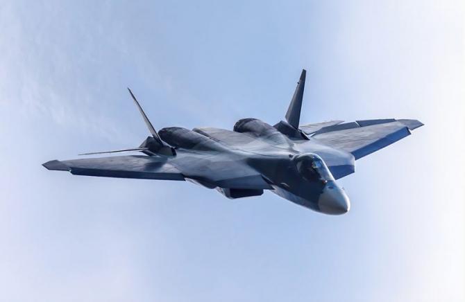 Su-57, sursă foto: United Aircraft Corporation