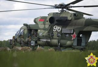 Sursă foto: Ministerul Apărării din Belarus - Facebook