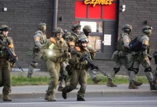 fortele de ordine din Belarus