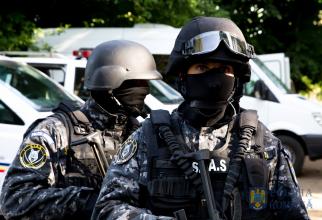 Sursă foto: Fortele Speciale ale Poliţiei Române Facebook