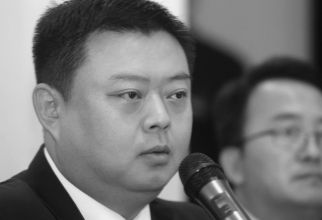 Wang Jing Chief executive of Beijing Skyrizon Aviation and Beijing Xinwei Technology Group