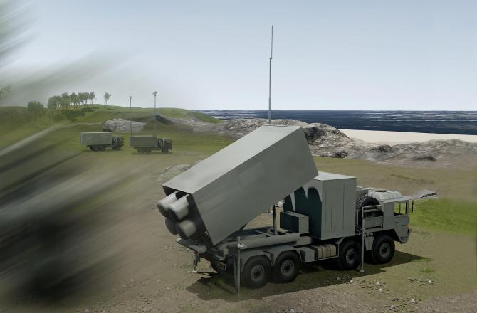 Sistem de baterii de coastă, sursă foto: MBDA